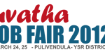 Yuvatha Job Fair 2012 at Pulivendula, YSR, Andhra Pradesh on 24th and 25th March