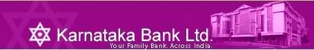Karnataka Bank Recruitment 2012