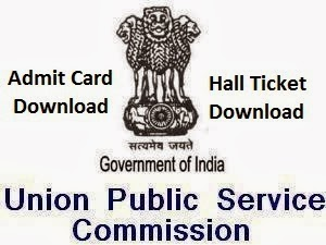 UPSC CAPF Admit Card Download | CAPF Exam 2013 UPSC.GOV.IN