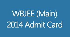 WBJEE 2014 Admit Card Download