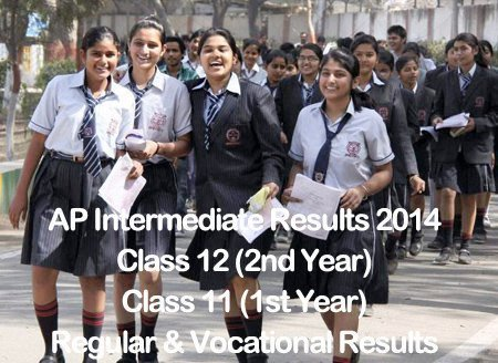 BIEAP AP Intermediate Results 2014 Second 2nd Year Class 12 Exam Result
