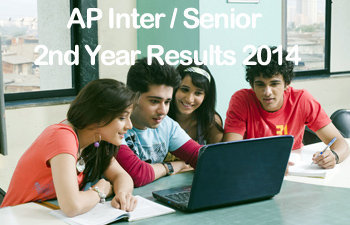 AP Intermediate Second Year Results 2014 | AP Inter 2nd Year Marks (General & Vocational)