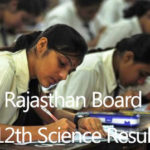 BSER Rajasthan Board Class 12th Science Result 2014 rajresults.nic.in