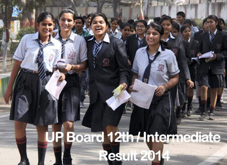 UP Board 12th Class Result / Intermediate Class XII Results 2014 | upresults.nic.in