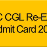SSC CGL Tier-I 2014 Re-Exam Admit Card Download (North Region)