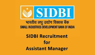 SIDBI Bank Recruitment 2015 for Assistant Manager