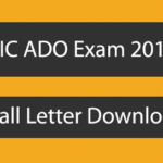 LIC ADO Call Letter Download | LIC ADO Online Exam Admit Card 2015