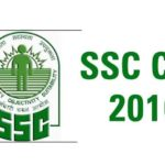 SSC CGL 2016 Result Final Online