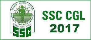 SSC CGL 2017 Exam Date Schedule